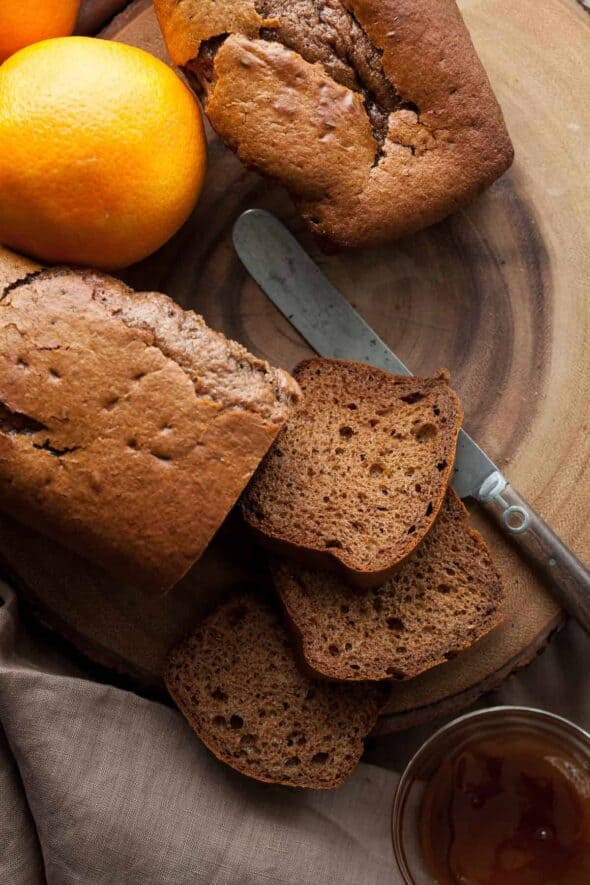 French Spice Bread - Pain D'Epices (Gluten-Free, Paleo)