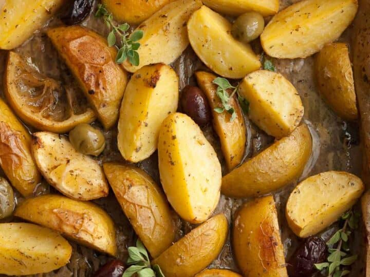 Greek Style Lemon Potatoes Recipe