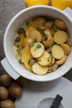 Greek Style Lemon Potatoes