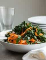 Moroccan Kale Carrot Salad