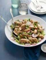 Roasted Fingerling Potato Salad with Mustard Herb Vinaigrette