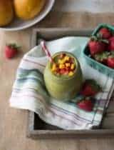 Pink Flamango Smoothie from Simple Green Smoothies