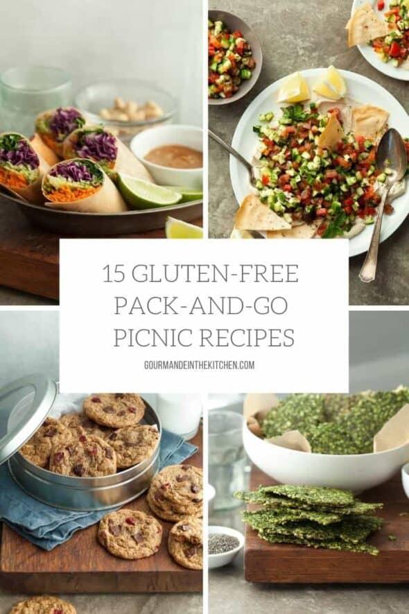 gluten-free picnic recipe ideas
