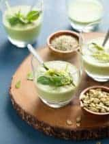 Chilled Zucchini Basil Soup (Paleo, Vegan)