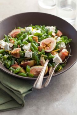 This lemony green bean salad full of vibrant tastes and textures is as easy as it gets.
