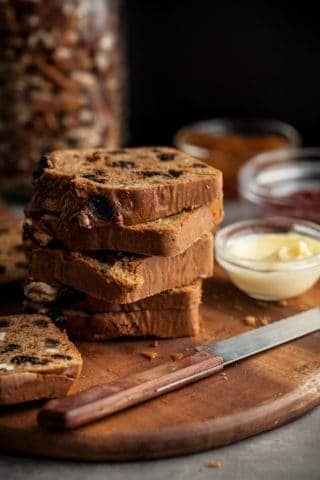 Fruit and Nut Bread (Gluten-Free, Paleo)