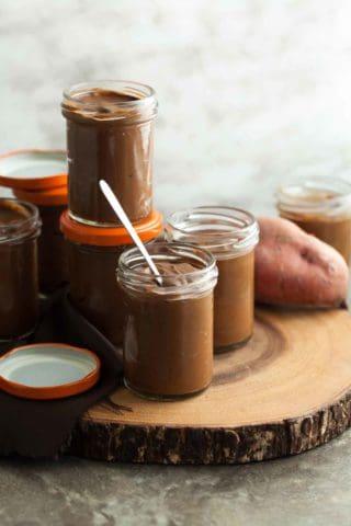 Chocolate Sweet Potato Pudding (Paleo, Vegan)