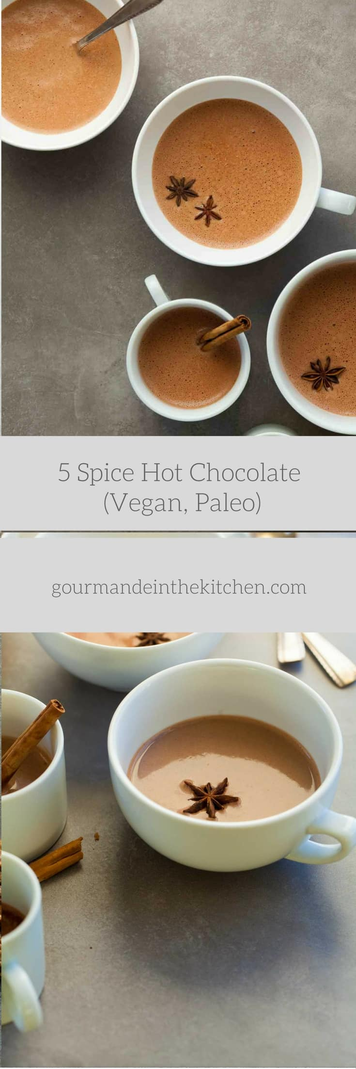 Chinese 5 Spice Hot Chocolate (Vegan, Paleo) | Gourmande in the ...