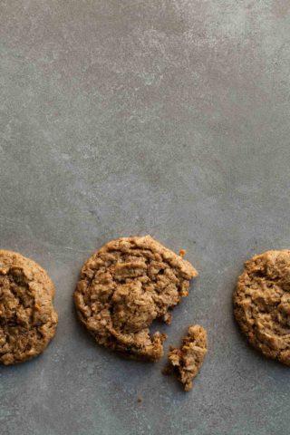 Chai Spice No-Oatmeal Raisin Cookies (Vegan, Paleo)