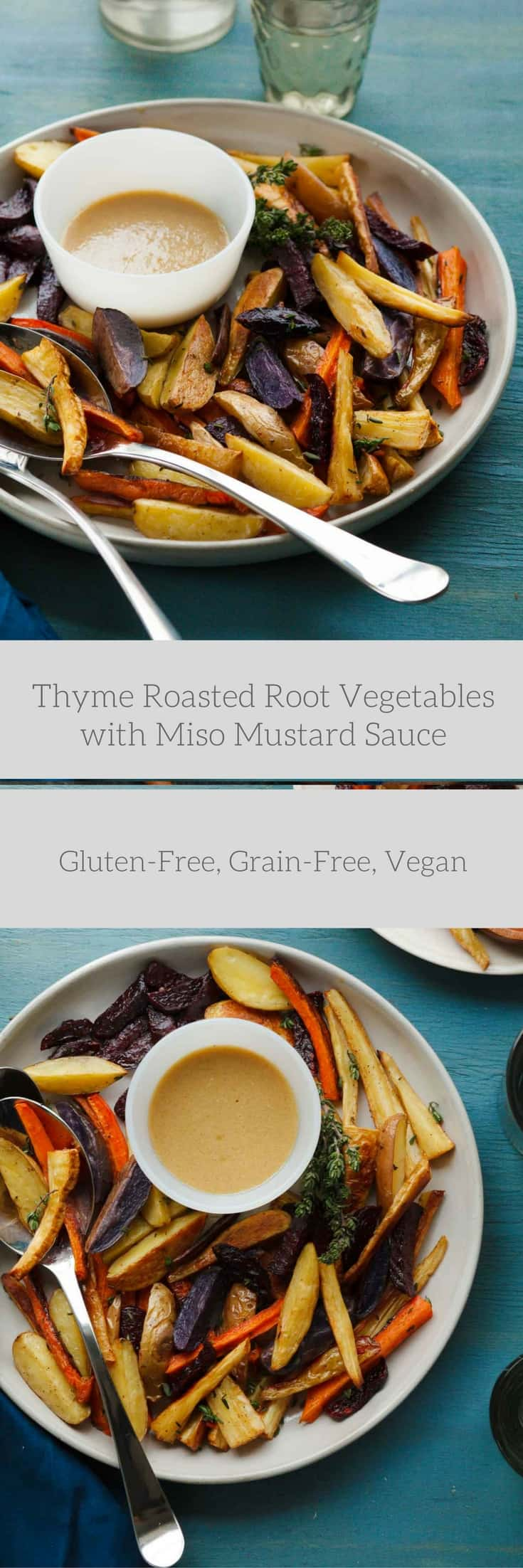 ... Root Vegetables with Miso Mustard Sauce | Gourmande in the Kitchen