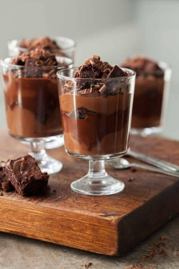 Fudgy Brownie Trifle Recipe — Dishmaps