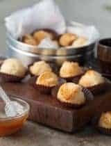 Honey Coconut Macaroons (Dairy-Free, Paleo) | Rochers à la Noix de Coco