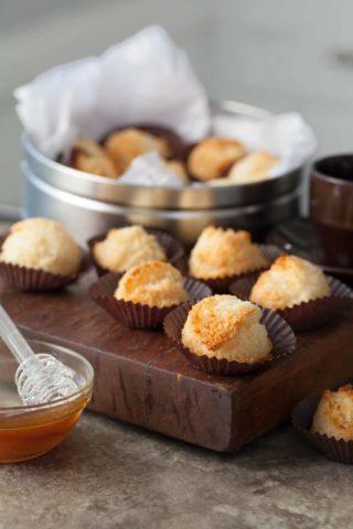 Paleo Honey Coconut Macaroons (Dairy-Free)