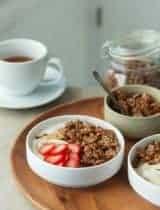 Super Seed Gluten-Free Granola Yogurt Bowl (Paleo, Vegan)