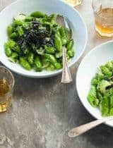 Broccoli Stalk and Sesame Snap Pea Salad (Paleo, Vegan)