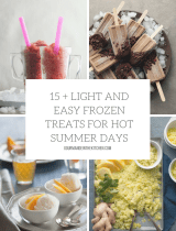 15+ Light and Easy Frozen Treats for Hot Summer Days