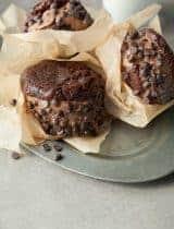 Double Chocolate Ice Cream Sandwiches (Paleo, Vegan)