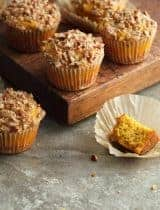 Gluten-Free Butternut Squash Pecan Muffins (Paleo)