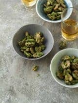 Pesto Roasted Walnuts (Paleo, Vegan)