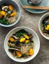 Kelp Noodle Vegetable Japchae (Paleo, Vegan)