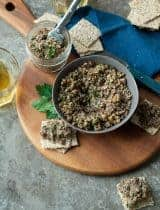 Roasted Mixed Mushroom Walnut Pâté (Paleo, Vegan)