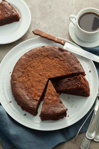 Flourless Chocolate Walnut Torte (Paleo)