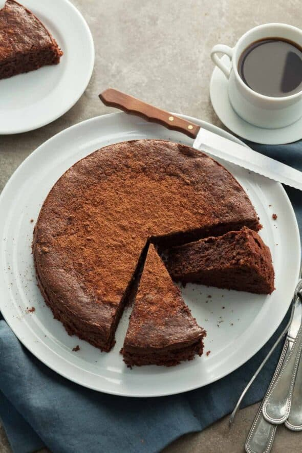 Flourless Chocolate Walnut Torte (Gluten-Free, Paleo ...