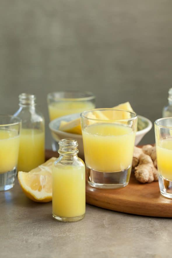 Pineapple Ginger Wellness Juice Shots