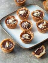 Chocolate Almond Coconut Macaroon Cups (Paleo, Vegan)