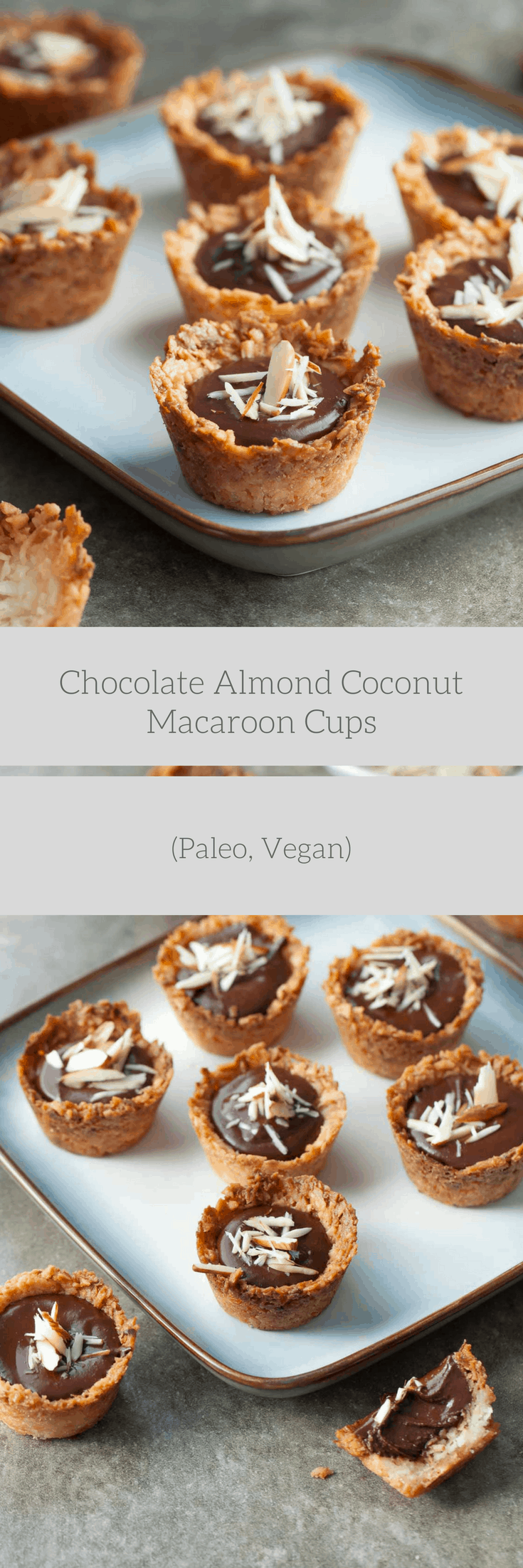 Chocolate Covered Almond Macaroons Recipe