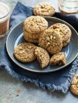 Flourless Walnut Cookies with Cardamom (Gluten-Free, Paleo)