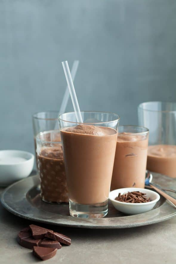 Mexican Frozen Hot Chocolate (Paleo)