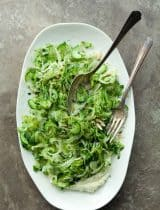 Shaved Celery Cucumber and Fennel Salad