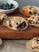 Blueberry Almond Streusel Coffee Cake (Gluten-Free, Paleo)