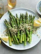 Grilled Lemon Poppy Seed Asparagus