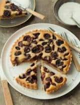 Gluten-Free Cherry Frangipane Tart (Paleo)