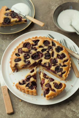 Cherry Frangipane Tart (Grain-Free Recipe)
