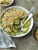 Gluten-Free Summer Squash and Zucchini Gratin (Paleo, Vegan)