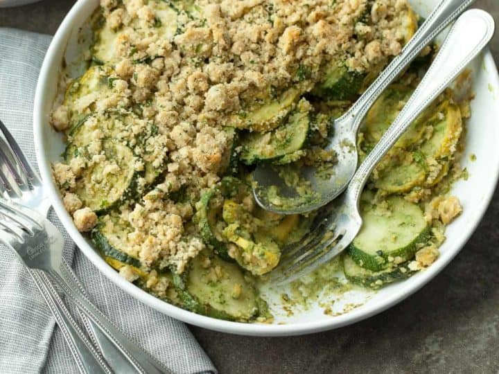 Summer Squash and Zucchini Gratin Recipe