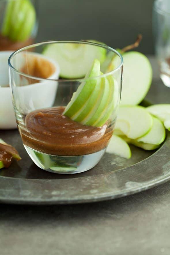 Caramel Apple Cider Dip