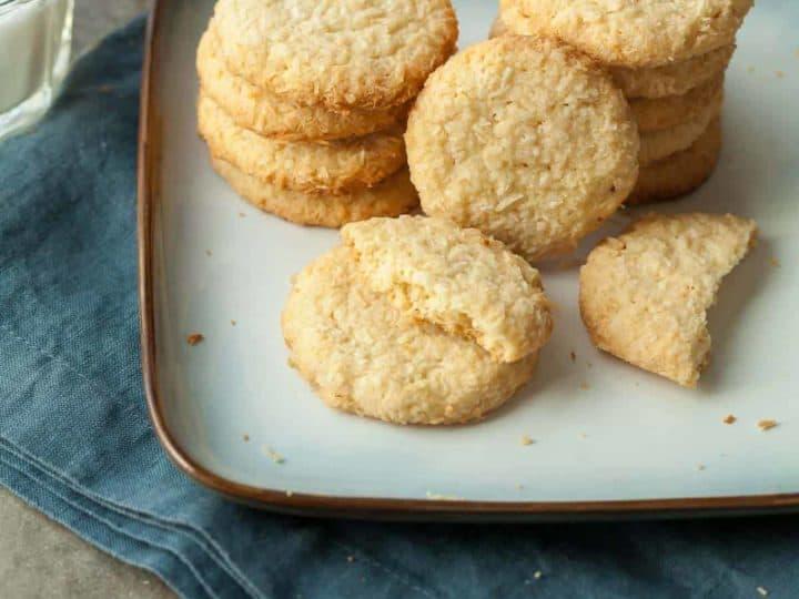 Crispy Coconut Cookies (Gluten-Free)