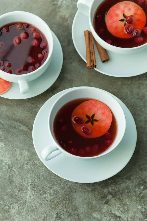 Easy Chai Spiced Cranberry Apple Cider Recipe