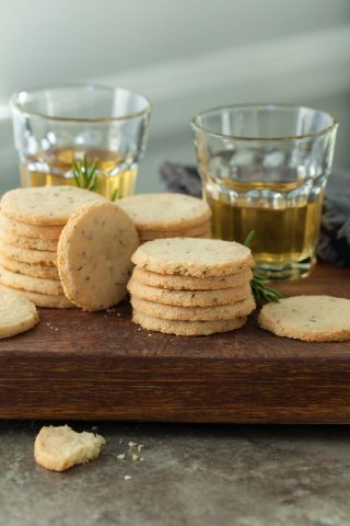 Rosemary and Pecorino Sables (Grain-Free)