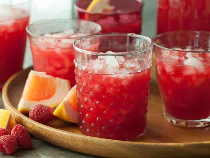 Raspberry Rooibos Grapefruit Iced Tea Recipe