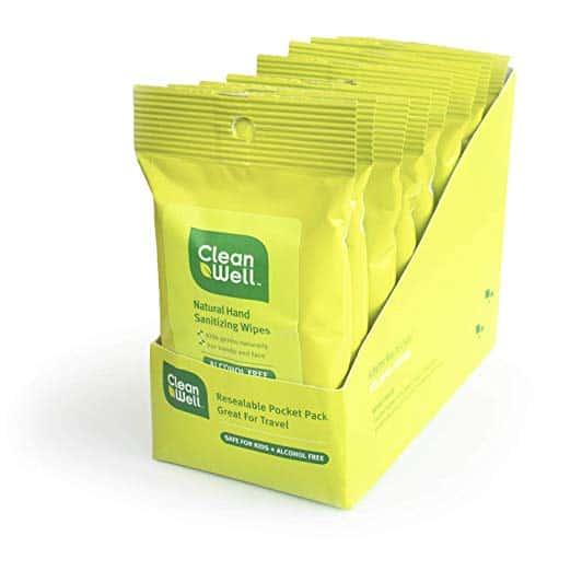 Cleanwell wipes