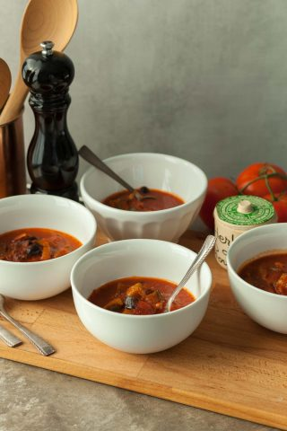 Provençal Tomato Vegetable Soup (Paleo, Vegan)