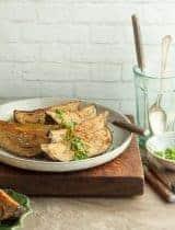 Tahini Miso Glazed Eggplant (Paleo, Vegan)
