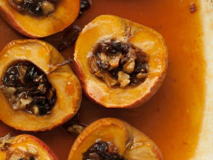 Cider Caramel Baked Apples Recipe