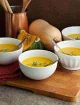 Winter Squash Soup (Paleo, Vegan)