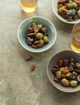Za'atar Roasted Olives and Almonds